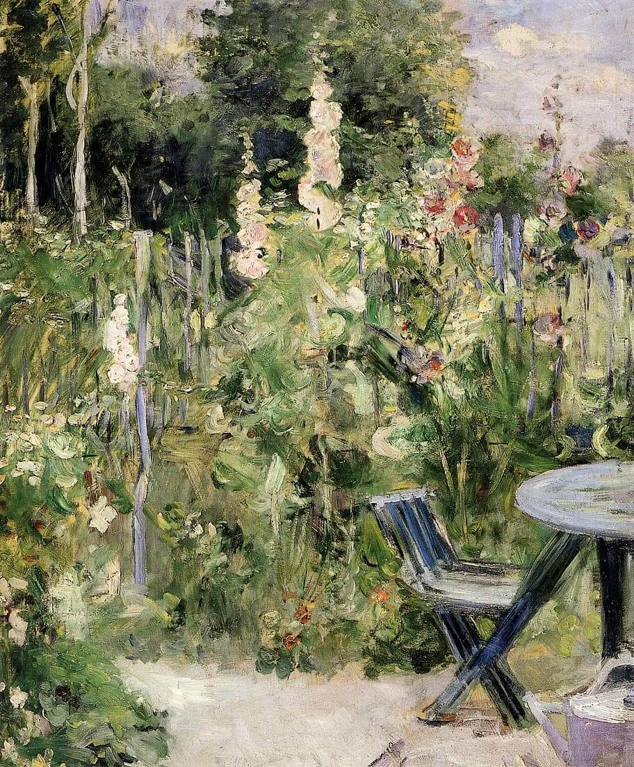 """Roses Tremieres"" de Berthe Morisot"